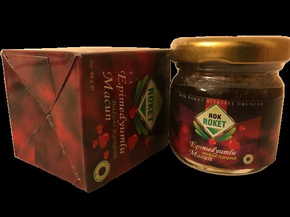 Turkish viagra Epimedium paste  Honey Mix Macun Horny Goat Weed Ginseng Herbal Aphrodisiac– Turkish Paste made in Turkey 1