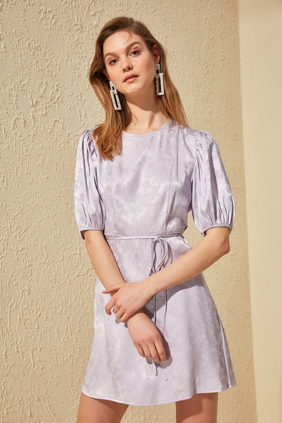 Trendyol Lacing Detail Dress TWOSS20EL1362