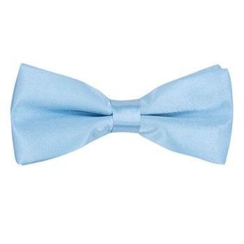 Men's bow tie (polyester, blue, texture) 50115