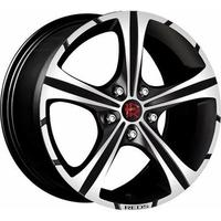 1 Original rim MOMO RED BLACK KNIGHT 7 5X17 ET42 4X108 BLACK MATT  POLISHED
