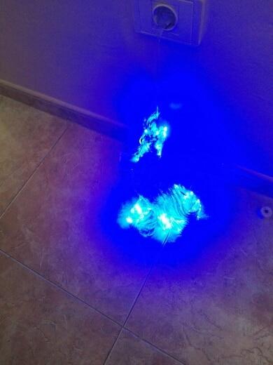 Fios de LED Cordas Garland Garland