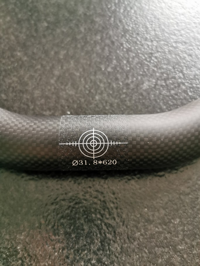 Matt or Glossy Carbon Bicycle Handlebar photo review