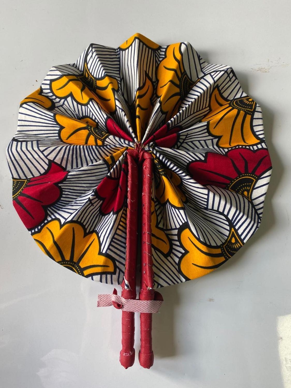 Wax fan African loincloth