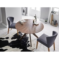 Round 120 cm hickory tree or robe coffee dining table, dining table Norse. Modern furniture dining room tables. Kitchen table