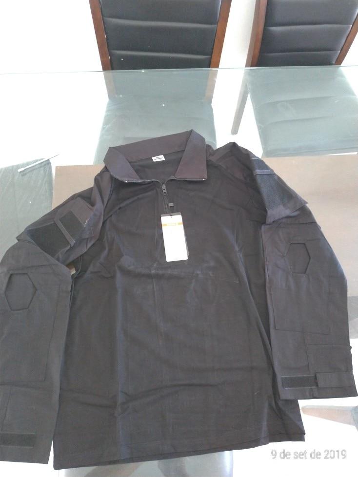 Camisas p/ caminhadas Camuflagem Exército T-shirt