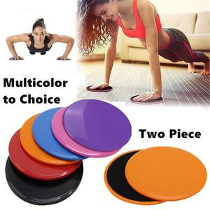 2PCS Sliding Slider gliding discs Yoga Gym Fitness Abdominal Workout gliding discs Training Exercise Rapid Slider Gliding Discs
