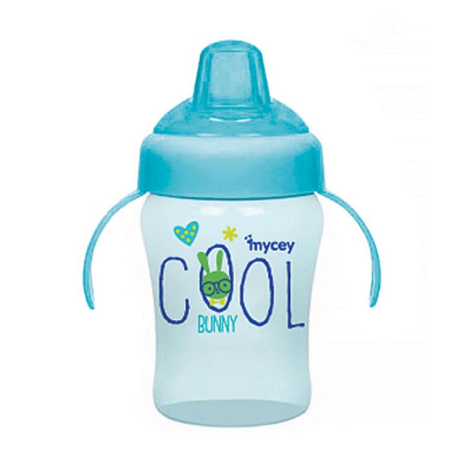Ebebek Mycey Bunny&Indian Sippy Cup Baby Glass 240 Ml