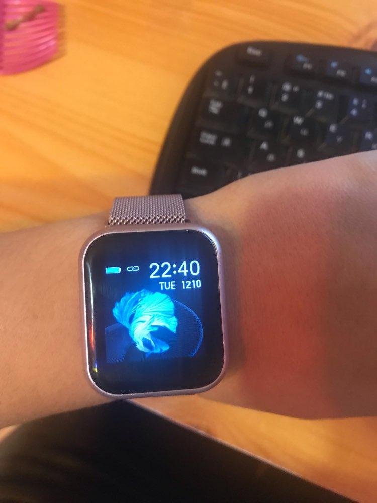 Women IP68 Waterproof Smart Watch P70 P68 Bluetooth 4.0 Smartwatch For Apple IPhone xiaomi LG Heart Rate Monitor Fitness Tracker|Smart Watches|   - AliExpress