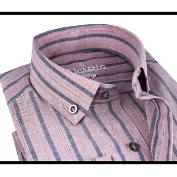 Men's Long-Sleeve Plaid Striped Oxford Shirts Single Patch Pocket Premium Quality Standard-fit Button Down Cotton Casual shirt button down long sleeve pocket shirt