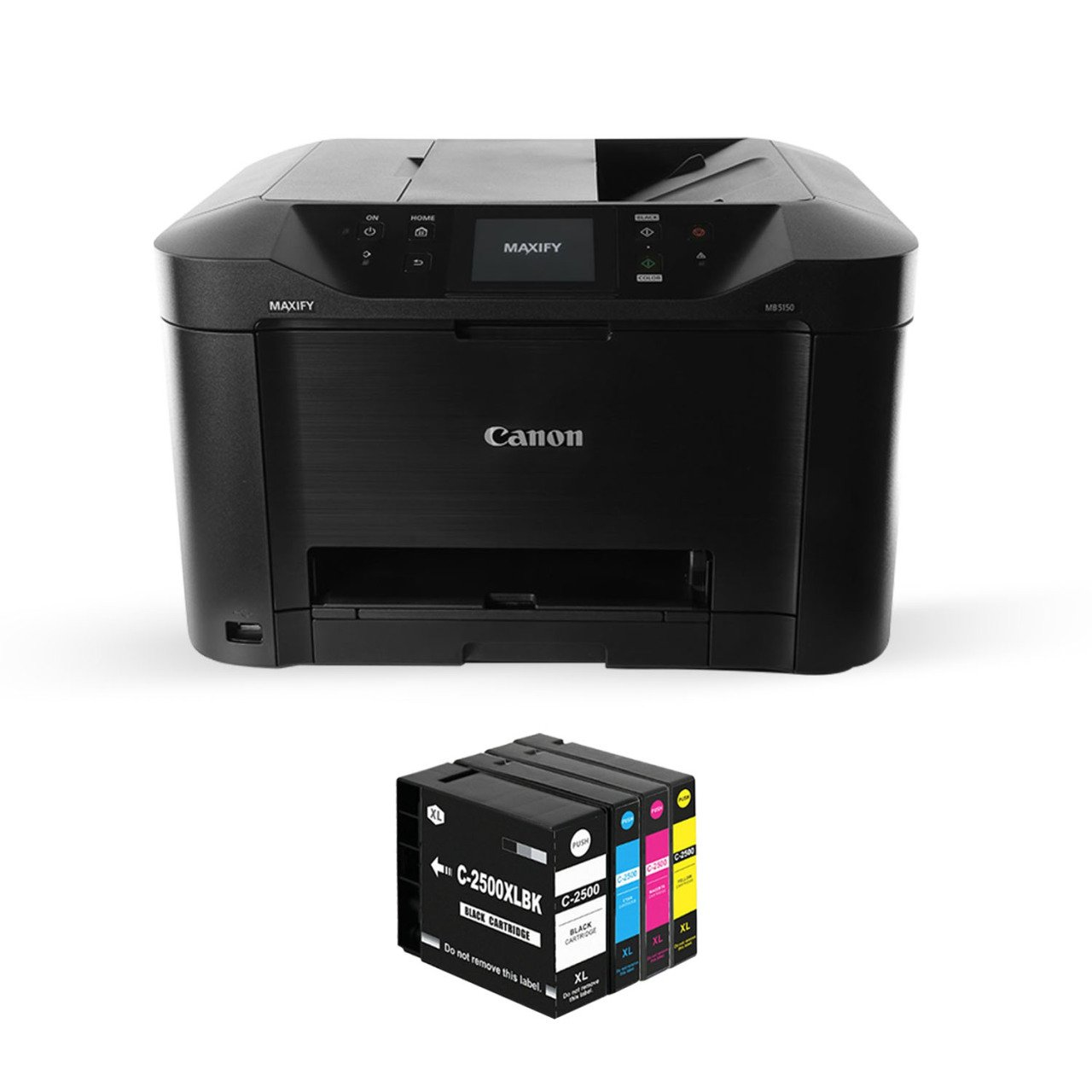 For Canon Maxify MB5150 Printer and Full Filled Photoink Equivalent Cartridges title=