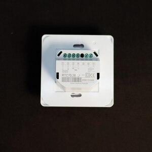 Терморегулятор MST1 / RTC 70.26, для теплого пола с 3 метровым датчиком в комплекте, термостат, инфракрасное отопление
