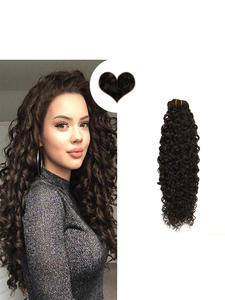 Ugeat Hair-Extension Human-Hair Natual-Wave-Clips Real 14-24inch 7PCS 120g Remy Pure-Color