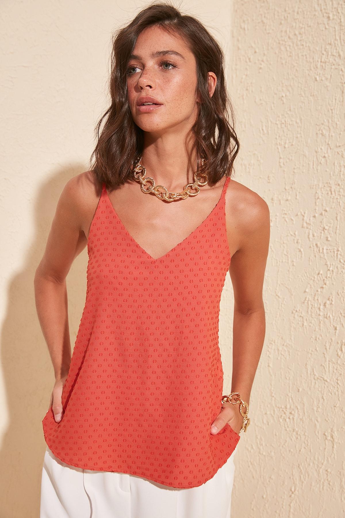 Trendyol Pendant Bluz TWOSS20BZ0358