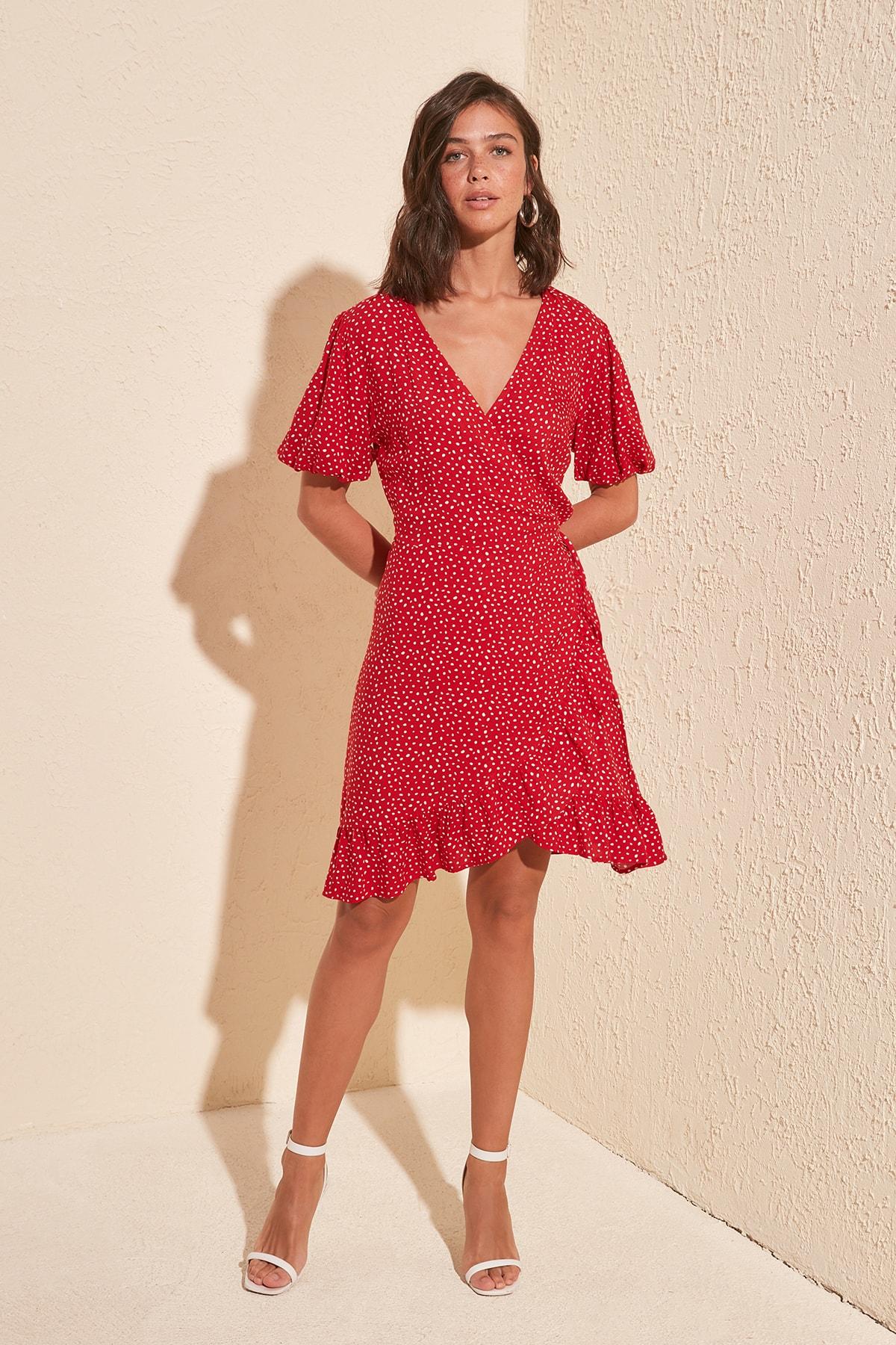 Trendyol Double Breasted Dress TWOSS20EL0634