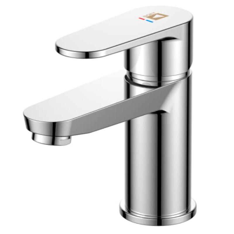 Single Lever Basin Mixer Tap Flow Chrome Saddle Luca - Feliu Boet