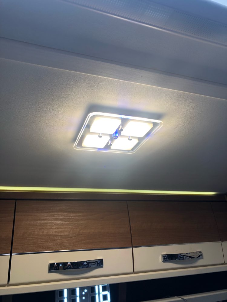 Luzes embutidas de LED Lâmpada Caravana motorhome
