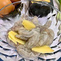 年夜菜(蒸蒸日上)虾仁玉子豆腐蒸蛋的做法图解2