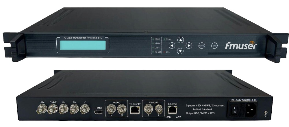 FC2205-HD-SD-Video-Audio-encoder-AV-HDMI-SDI-YPbPr-in