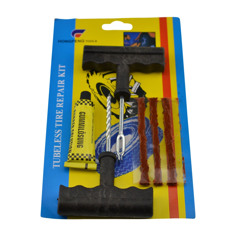 Kit Tire Repair Repairman Fast Puncture Car Wheels Motorbike