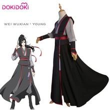DokiDoki Anime Cosplay  Mo Dao Zu Shi Wei WuXian Teenager Ver. Cosplay Costume Mo Dao Zu Shi Wei Wu Xian Men Halloween Costume недорго, оригинальная цена