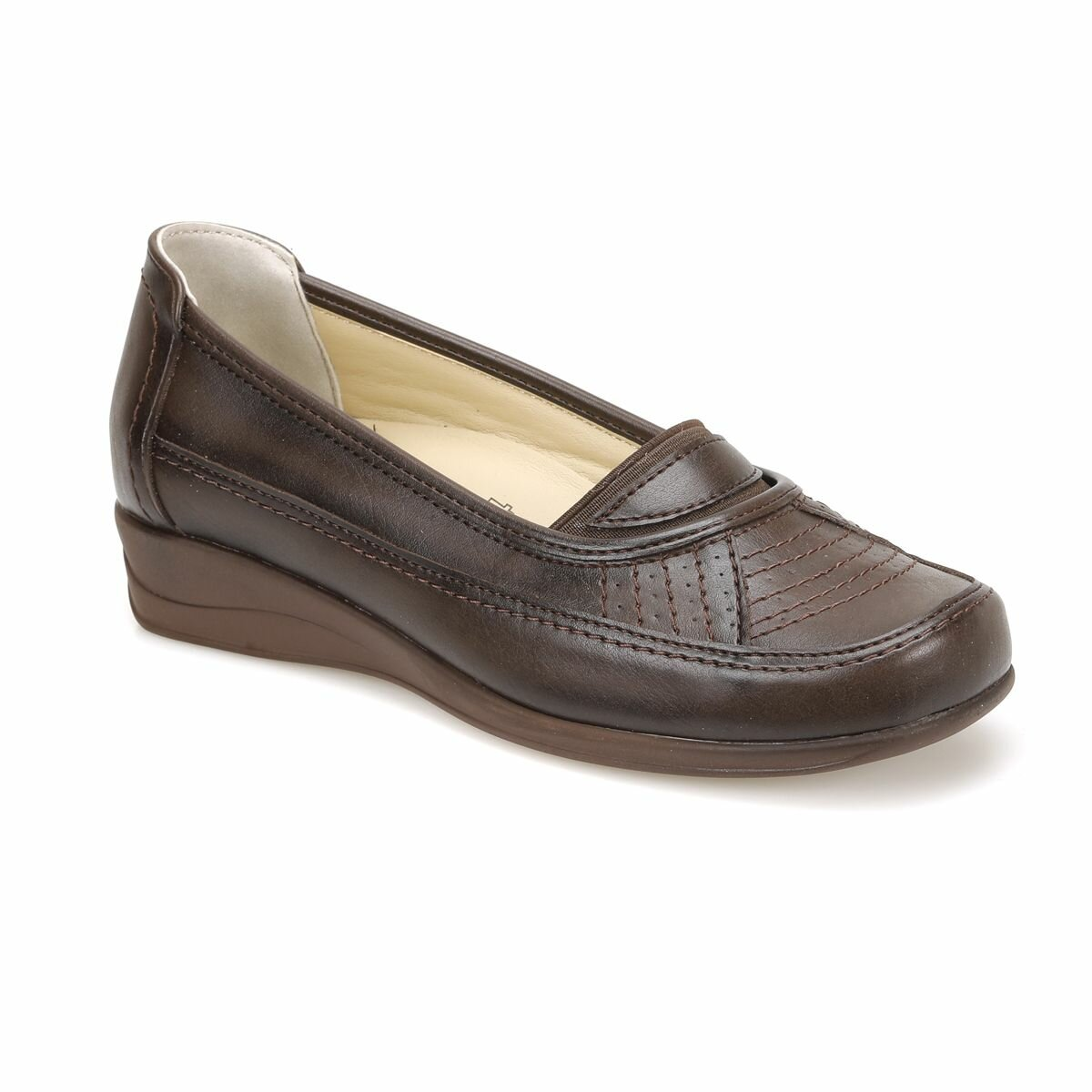 FLO 81.109609.Z Brown Women 'S Classic Shoes Polaris 5 Point