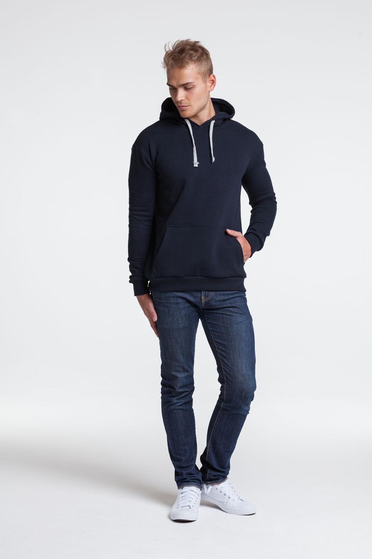 Sweatshirt unit kirenga heavy, unisex, with a hood and pocket kangaroo, thickening, 6926, unit