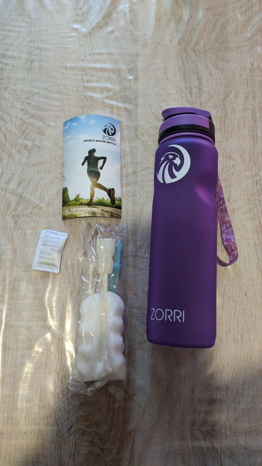 ZORRI Portable Sport Water Bottle BPA Free Plastic Outdoor Travel Carrying for Water Bottles Student gourde botellas para agua|Water Bottles|   - AliExpress