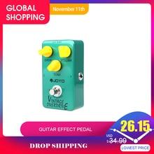 Joyo JF 01 Pedal de efectos de guitarra Vintage, Overdrive, True Bypass, accesorios para guitarra