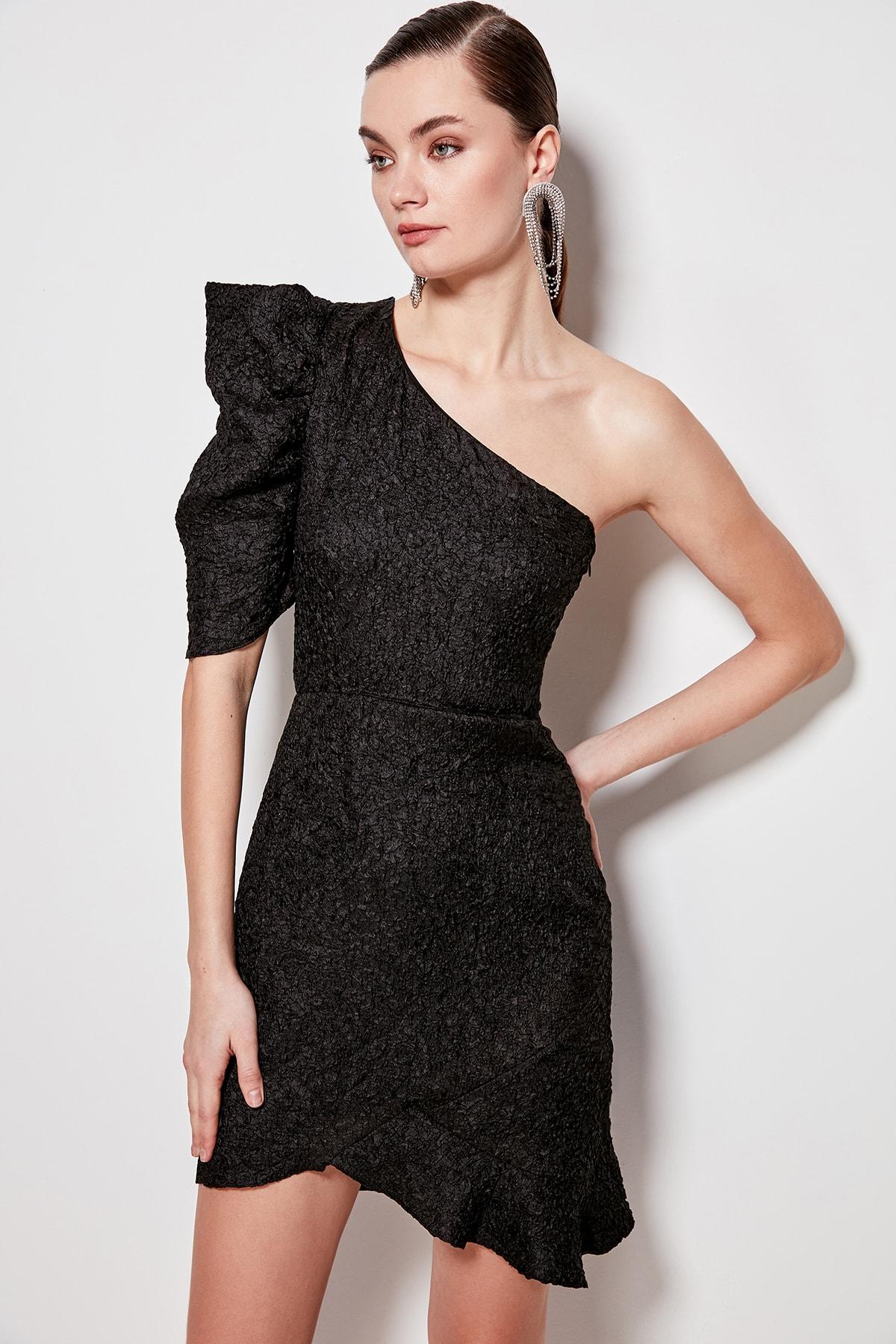 Trendyol Sleeve Detail Dress TPRSS20EL1146