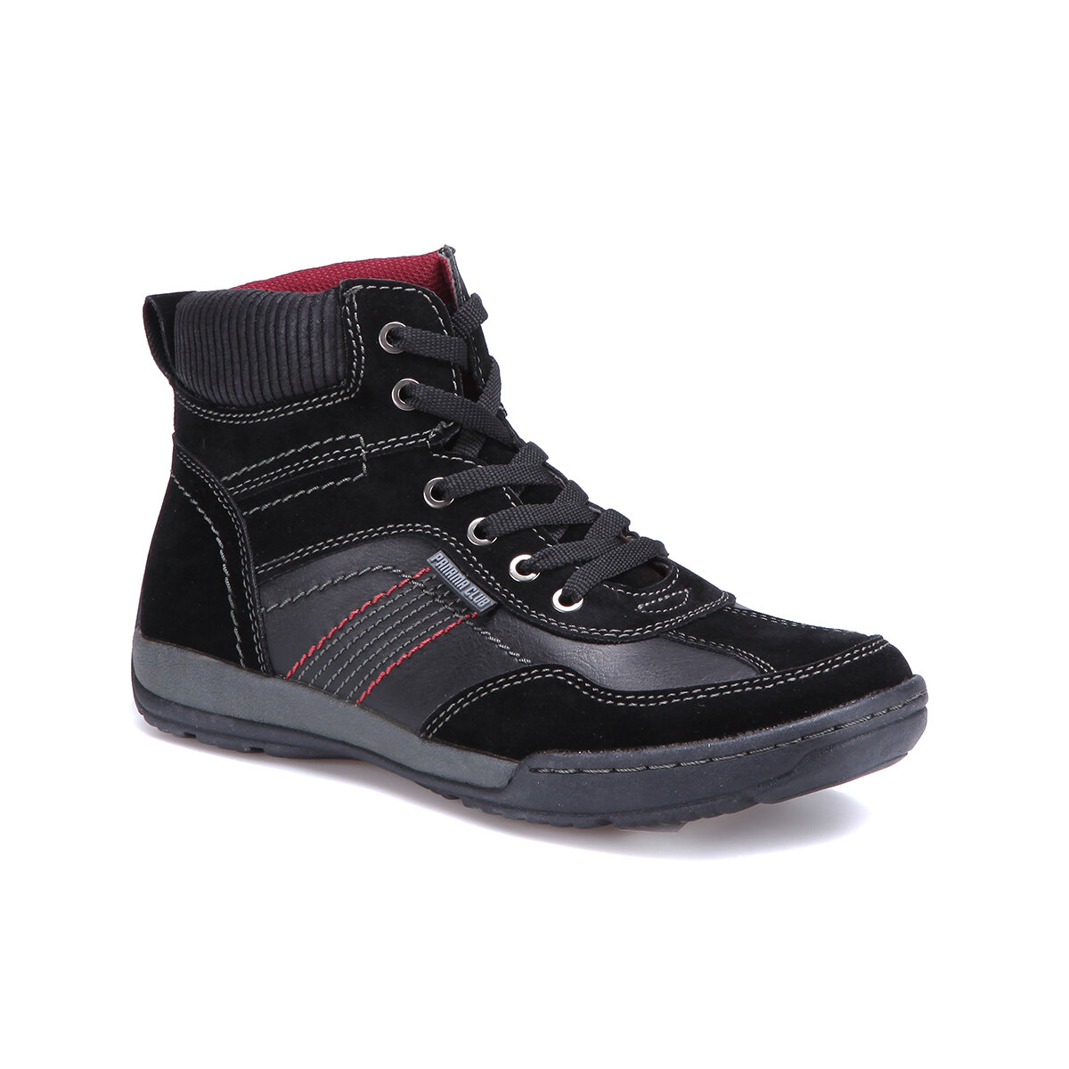 FLO SD9638 Black Men 'S Sneaker Shoes Panama Club