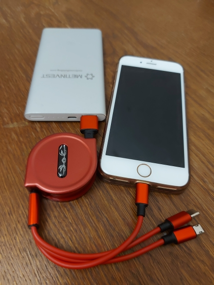 120cm 3 In 1 USB Charge Cable for iPhone 12 Micro USB Type C Cable Retractable Portable Charging Cable For iPhone X 8 Samsung S9|Mobile Phone Cables|   - AliExpress