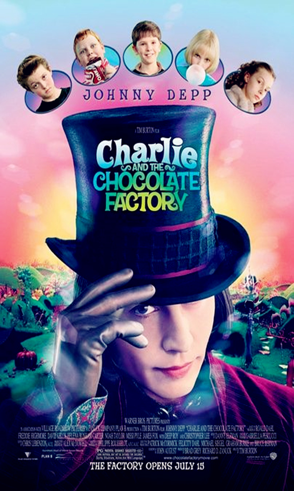 《查理和巧克力工厂》封面图片