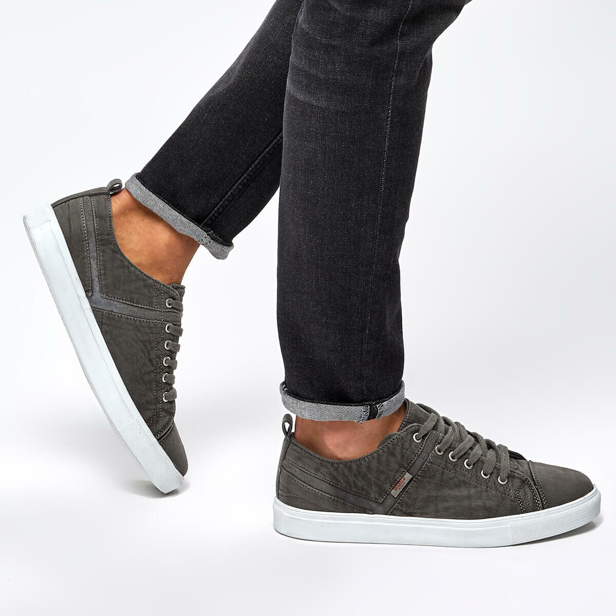 FLO 224920 Black Male Sneaker By Dockers The Gerle
