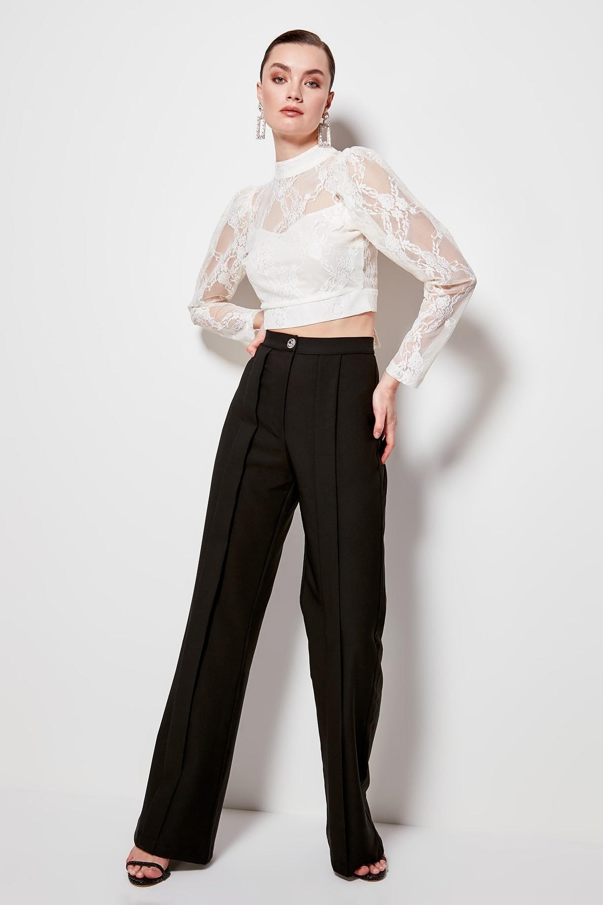 Trendyol Pleated Pants TPRSS20PL0044