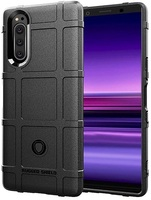 Case Sony Xperia 5 Color Black (Black), Armor Series, caseport