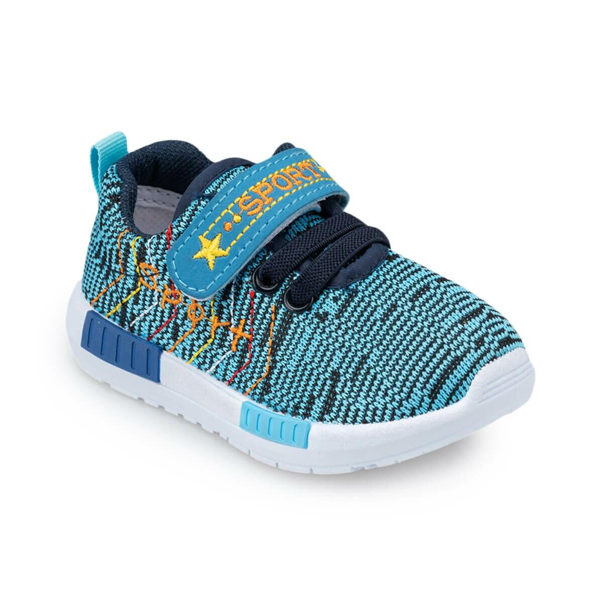 FLO 91.511062.I Blue Male Child Sport Shoes Polaris