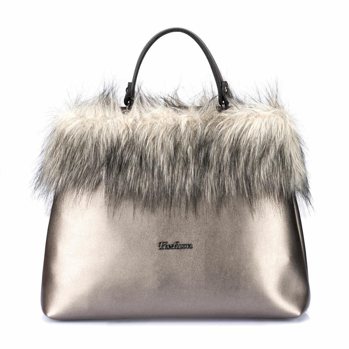 FLO PC18AW001 Silver Women Sleeve Bag BUTIGO