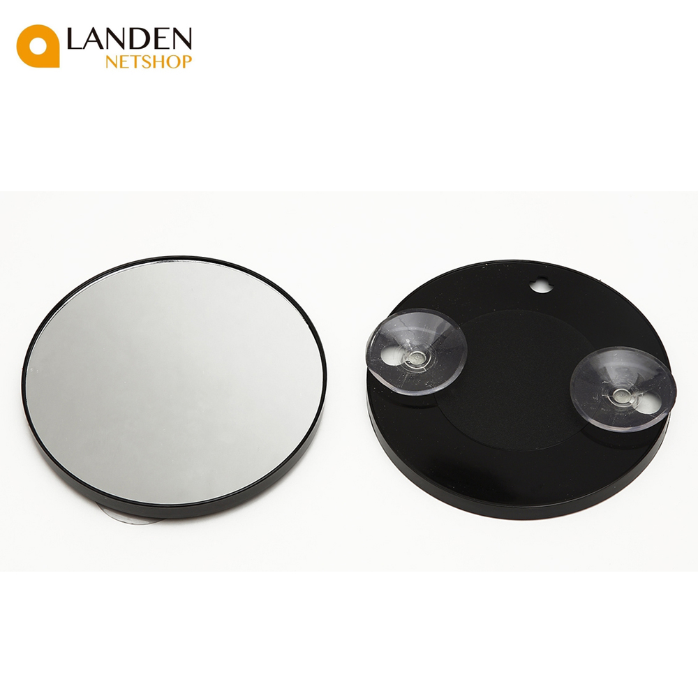 8.8cm Mirror With 2 Suckers, Increasing 2,5 Y10, For Pasting Over Single Vanity Mirror