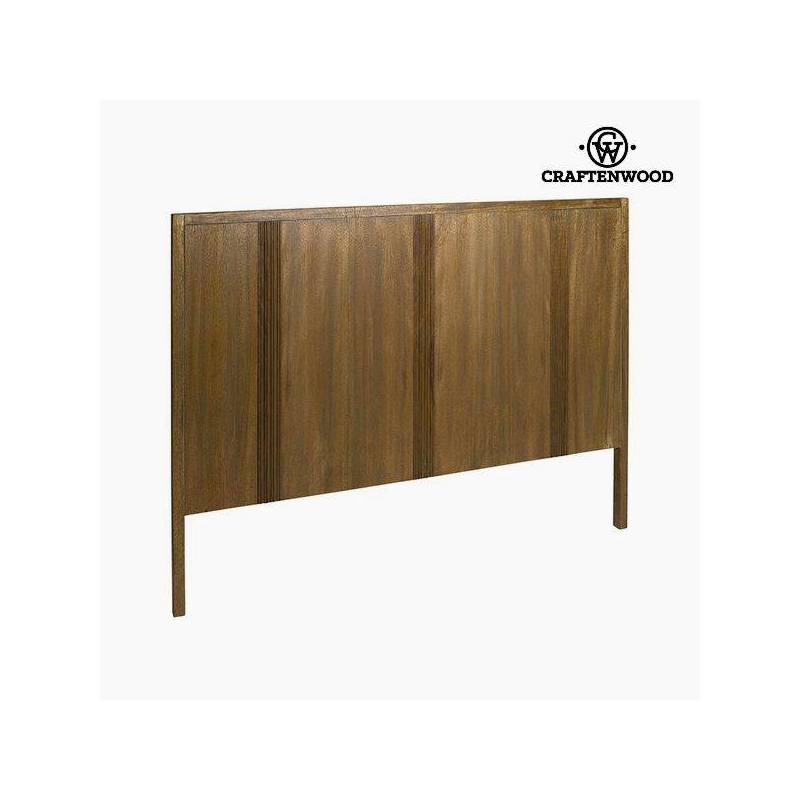 Bed Head Teak Brown Mdf (160x120x4 Cm)-the Collection Be Yourself By Craftenwood