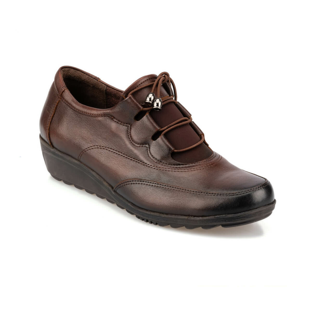 FLO 92.101011.Z Brown Women 'S Wedges Shoes Polaris 5 Point