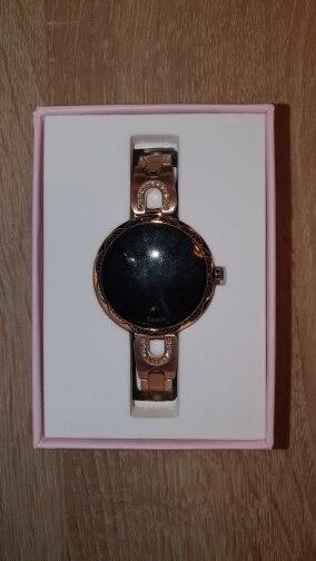 LEMFO Fashion Women Smart Watch Waterproof Heart Rate Blood Pressure Monitor Smartwatch Gift For Ladies Watch Bracelet Smart Watches     - AliExpress