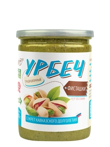 Natural pasta of pistachio, not fried without sugar, without palm oil, without salt TM #Spread_nut 230 gr., Urbech, healthy foo