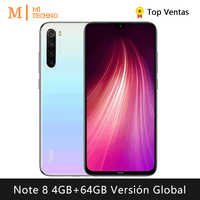 Xiaomi Redmi Note 8 Smartphone(4GB RAM 64GB ROM Free mobile phone new cheap android 4000mAh battery) [Global Version]