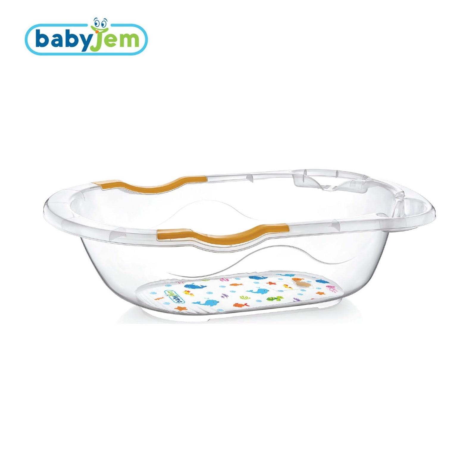 Пластиковая Ванна с прозрачным рисунком ebek Babyjem 35 литров