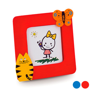Children's Photo Frame 143215 (6,2 x 6,2 cm)