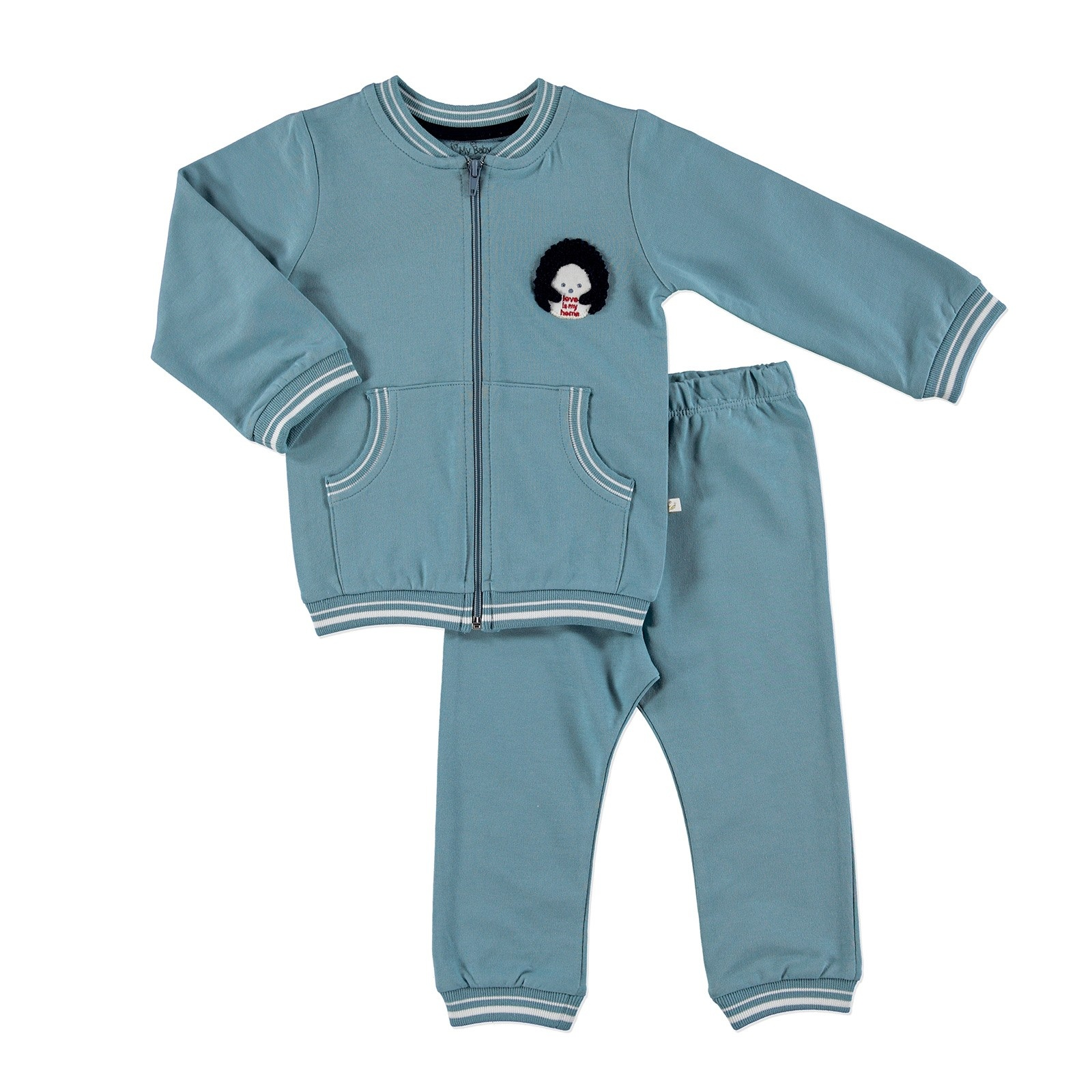 Ebebek For My Baby Joy Sweatshirt Trousers 2 Pcs