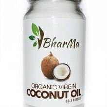 Кокосовое масло органик 100% Organic, первый холодный отжим, нерафинированное BharMa Шри-Ланка, 1000 мл.
