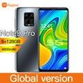 Radmi Note9 Pro 6 ГБ 128 5G глобальная версия смартфон 6,1» 10-ядерный подключается к сети 4g мобильные телефоны Android 10 Мобильный телефон Смартфон