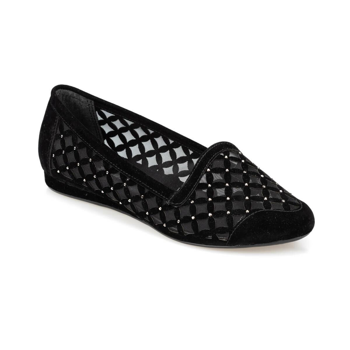 FLO 91.309733SZ Black Women Loafer Shoes Polaris