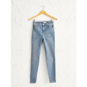 LC Waikiki Female Jean High waist girlfriend Zara Bershka Fit Fashion Sexy dsquared2 levis wedgie revolve lovers friends mom jeans шорты lc waikiki lc waikiki mp002xm23vbm